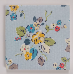 Ceramic Wall Tiles Made With Cath Kidston Woodland Rose Blue
